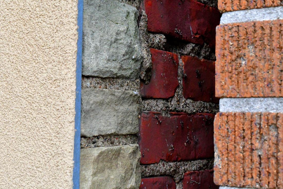 Stucco, Stone, Brick