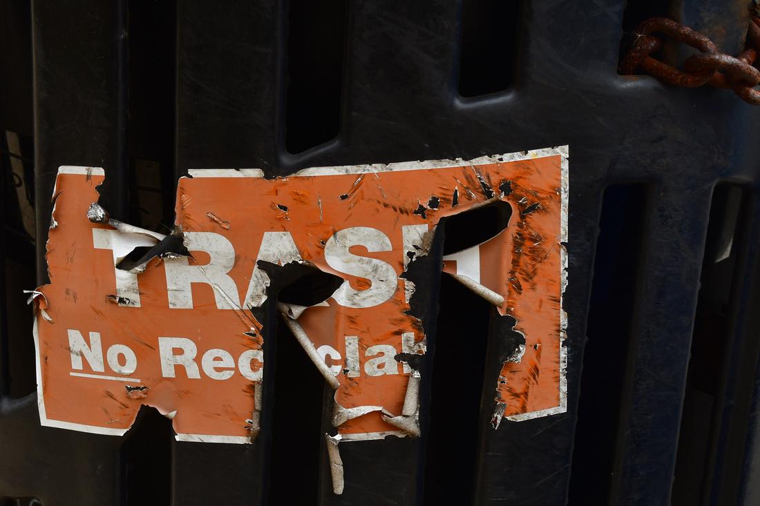 Tattered Trash