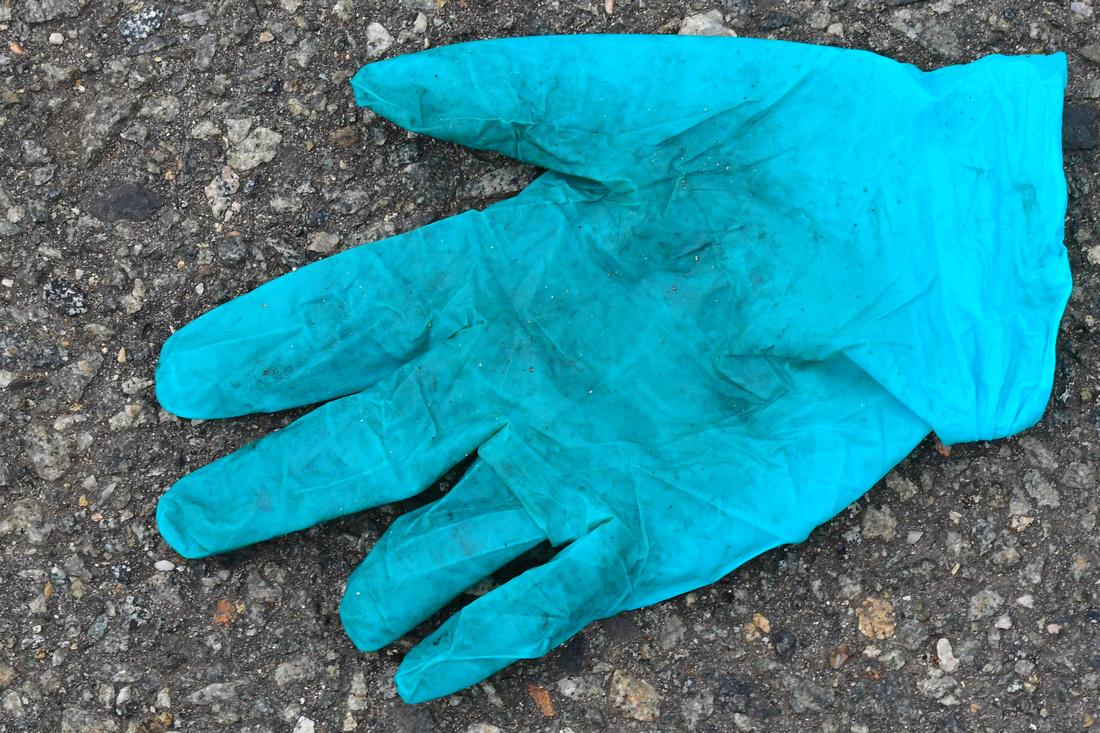 Turquoise Glove